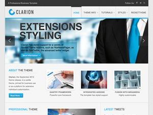 Clarion WordPress theme