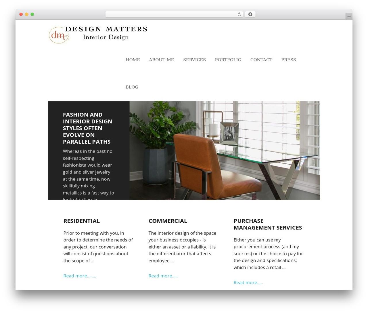 Executive Pro Theme WordPress theme design - fordesignmatters.com