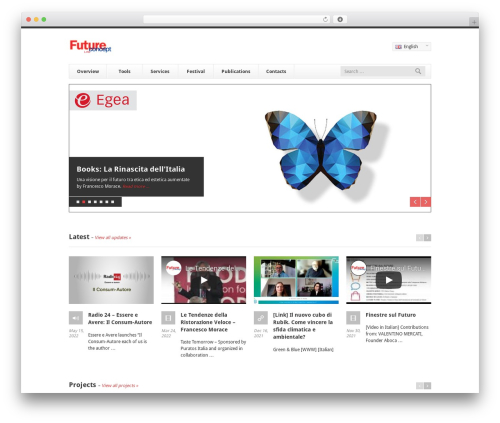 Finesse best WordPress template - futureconceptlab.com