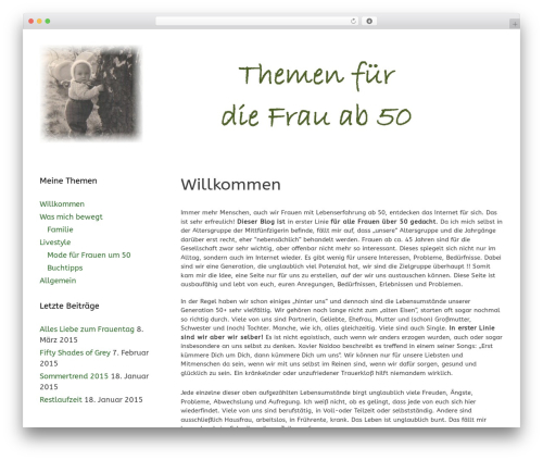 WordPress gallery-video plugin - frauen50plus.de