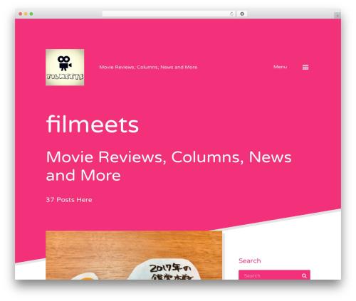 Qusq Lite free website theme - filmeets.com