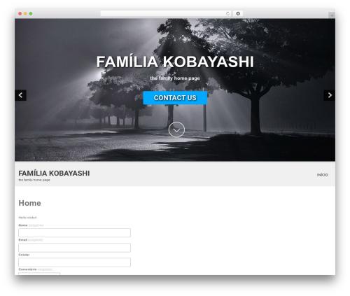 SKT White WordPress theme - familiakobayashi.com.br
