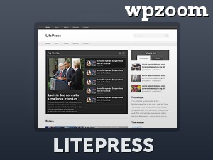 Template WordPress LitePress (Shared on Themearchive.ws)