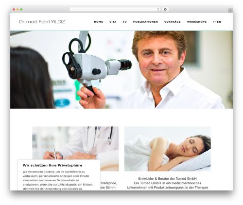 Theme WordPress Bridge - fahriyildiz.com