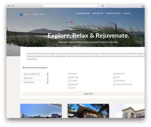 Theme WordPress Vermilion - freycinetholidayhouses.com.au