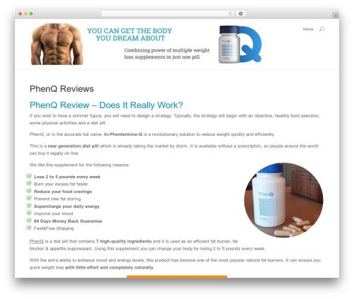 WordPress theme Divi - fatburnerswork.com