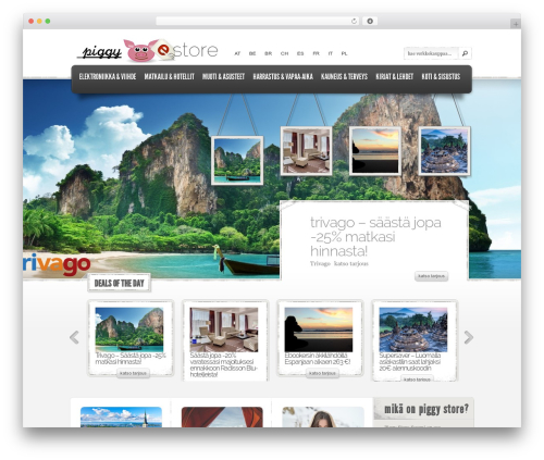 WordPress theme eStore - fi.piggystore.co