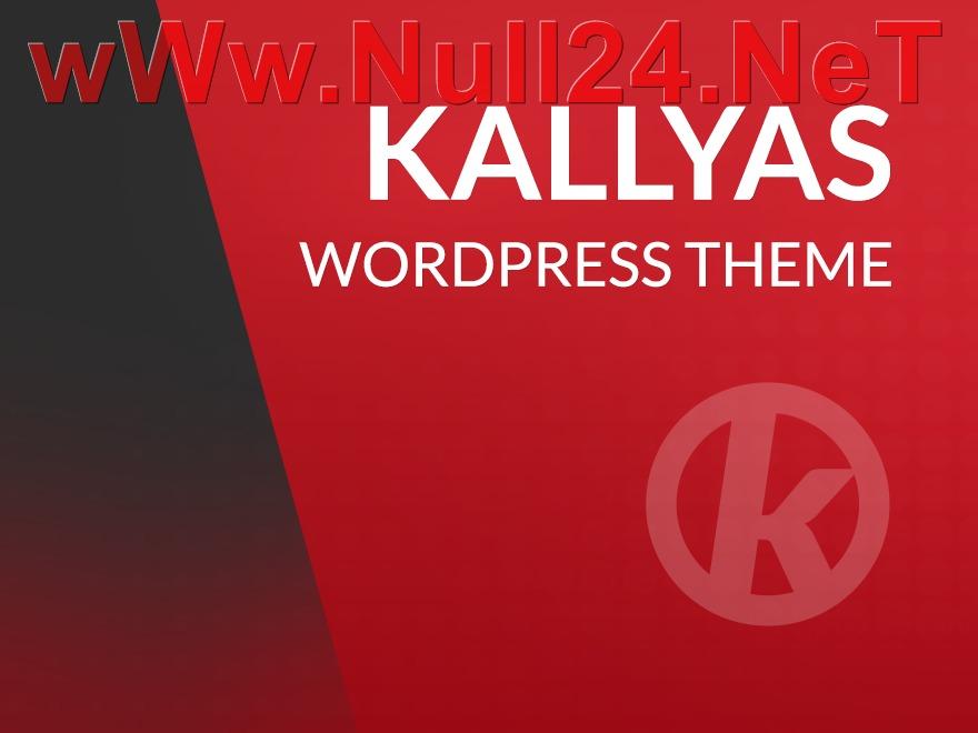 WordPress theme Kallyas - Themelot.net