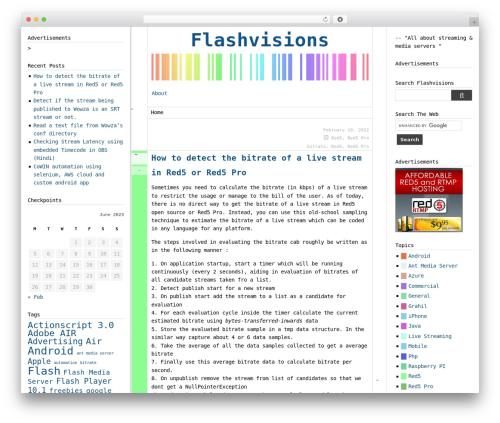 WordPress website template Boozurk - flashvisions.com