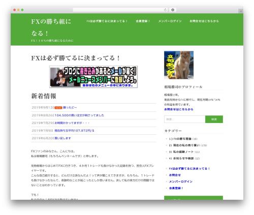 WordPress website template Wimple - fx-challenger.com