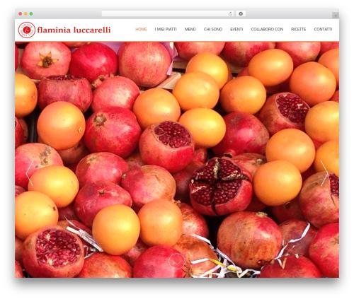 WP template AccessPress Parallax - flaminialuccarelli.it