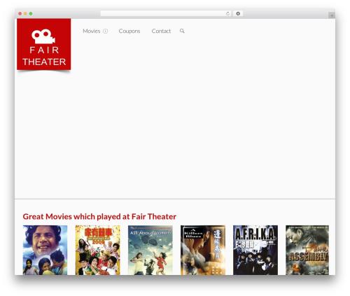 WP theme Seatera - fairtheater.com