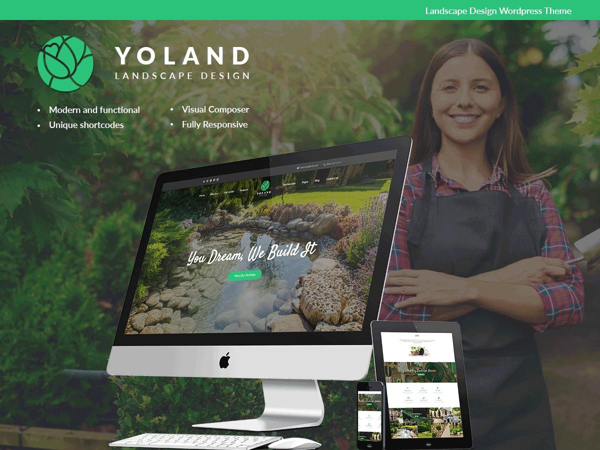 YolandDesign WordPress theme