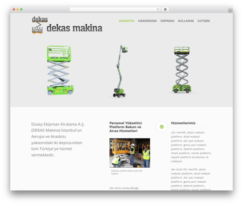 Affluent WordPress free download - dekasmakina.com