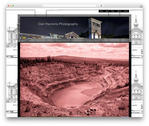 Best WordPress template Modularity Lite - danhawkinsphotography.com