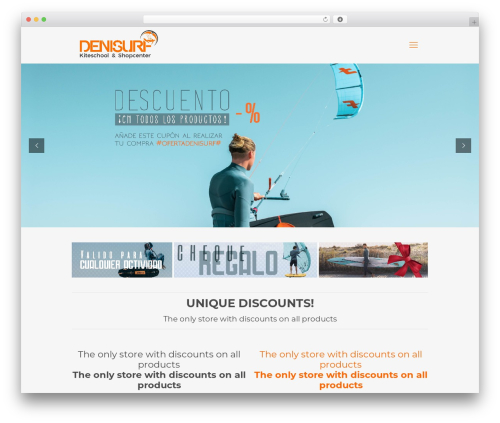 Betheme best WordPress theme - denisurf.es