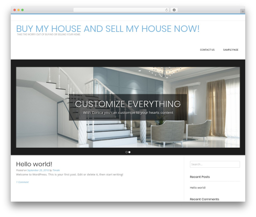 Conica WordPress theme free download - timale-sellmyhouse.com