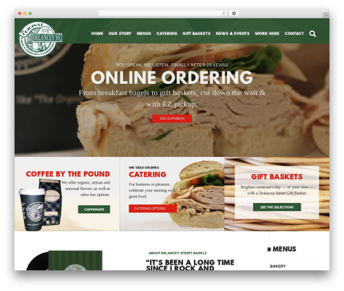 Latest WordPress theme free download - delanceystreetbagels.com