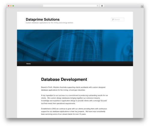 Twenty Eleven template WordPress free - dataprime.com.au