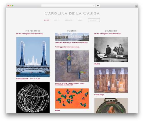 WordPress theme ProPhoto - delacajiga.com