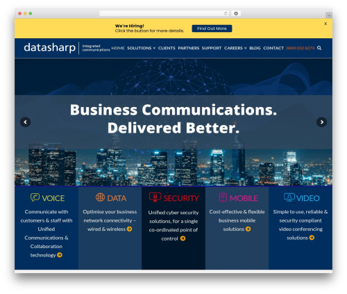 WordPress x-email-mailchimp plugin - datasharp-ic.co.uk