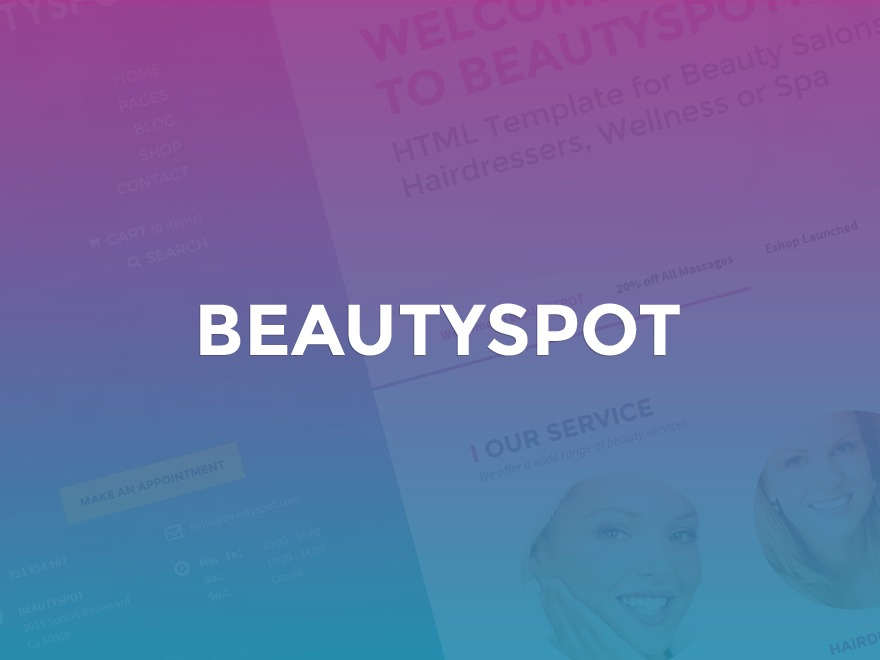 BeautySpot - shared on wplocker.com WordPress shop theme