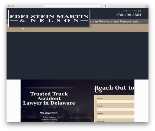 Best WordPress theme Betheme - delaware-trucking-lawyer.com