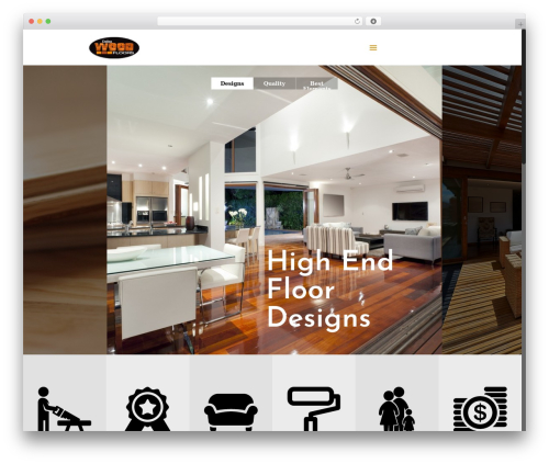Betheme WordPress theme - dallaswoodfloors.com