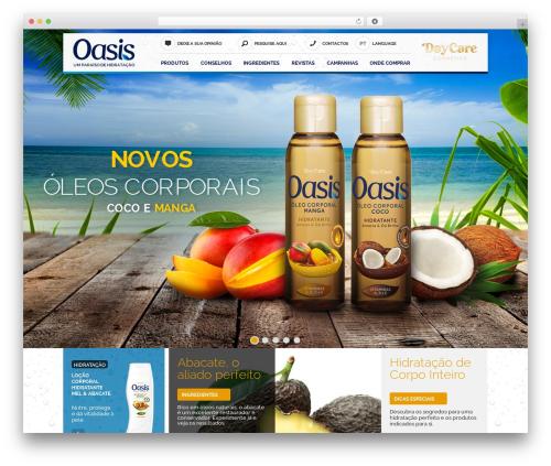 Template WordPress Oasis - daycare-oasis.com