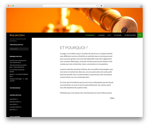 Twenty Fourteen WordPress theme free download - delaplace.eu