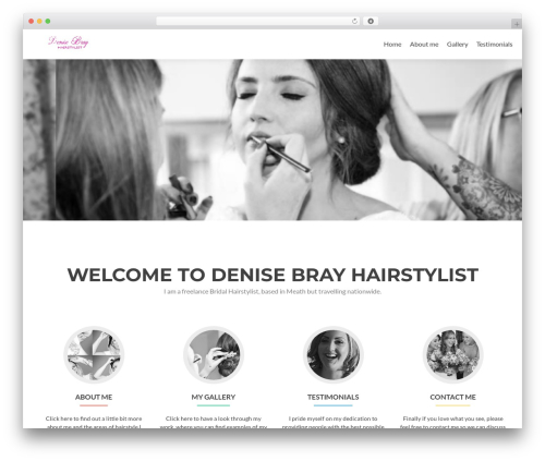 Zerif Lite best WordPress theme - denisebray.ie