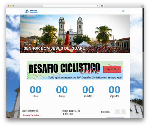 Betheme best WordPress theme - desafiociclistico.com