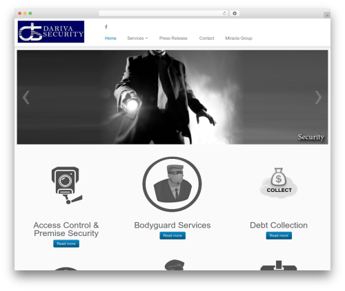 Customizr free WordPress theme - darivasecurity.com