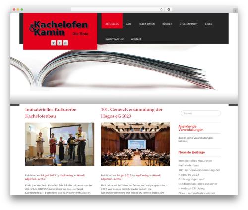 Fine Pro WordPress website template - dierote.de