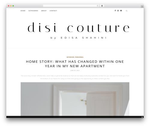 Free WordPress GDPR plugin - disicouture.com