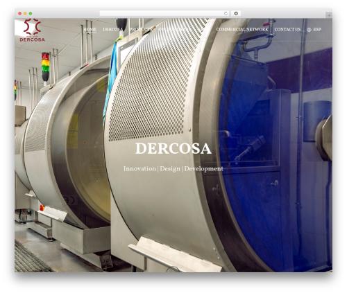 Jupiter WP theme - dercosa.com