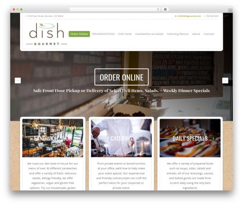 Free WordPress WPi Designer Button plugin - dishgourmet.com