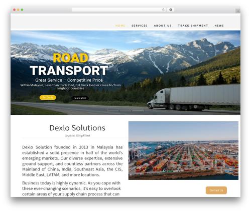 Expeditor WordPress theme - dexlo.com.my