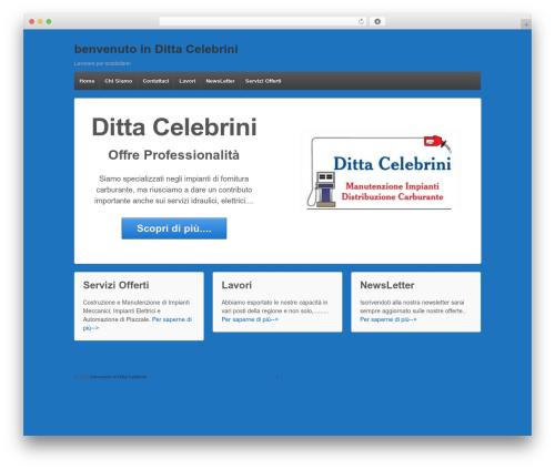 Responsive WordPress template free download - dittacelebrini.com