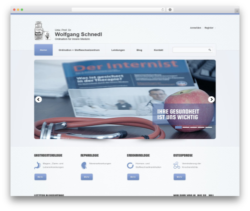 theme1626 WP theme - dr-schnedl.at