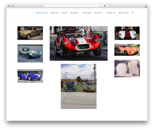 Divi WordPress theme - diocars.com