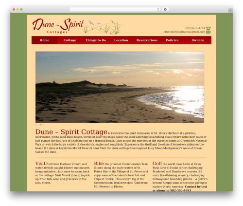 Responsive template WordPress free - dunespirit.com