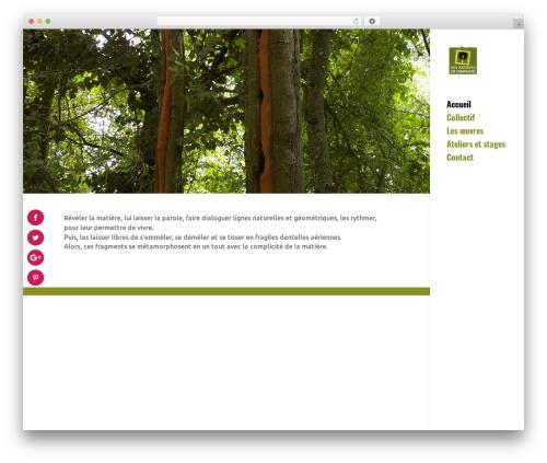 WordPress template Divi - desartistesencampagne.fr