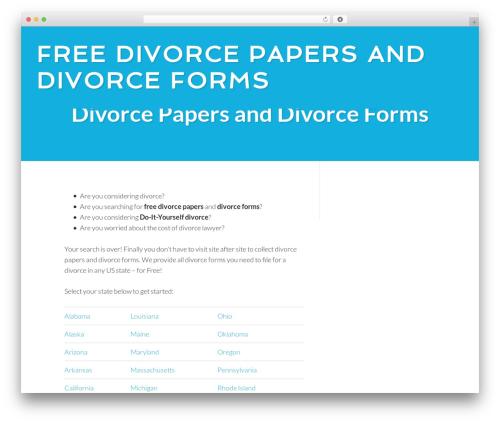 Centric Pro WordPress theme - divorcepapersforms.com