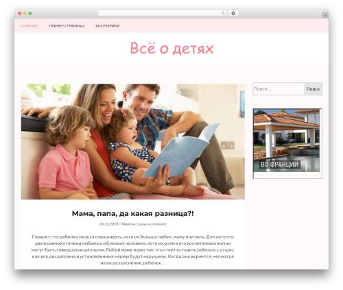 Kalon WordPress theme - detstyle-rnd.ru