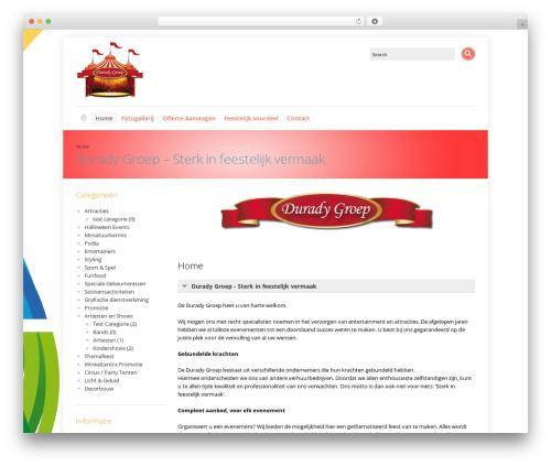 Shoppica WordPress shopping theme - durady.com