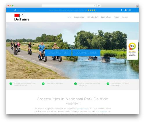 Theme WordPress Avada - detwirre.nl