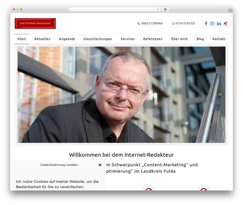 Wlad Framework theme WordPress - der-internet-redakteur.de