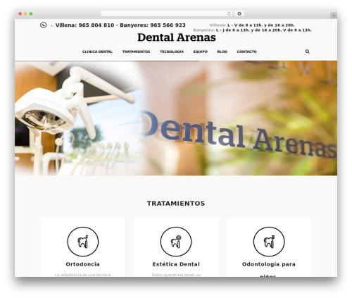 DENTALUX WP template - dentalarenas.com