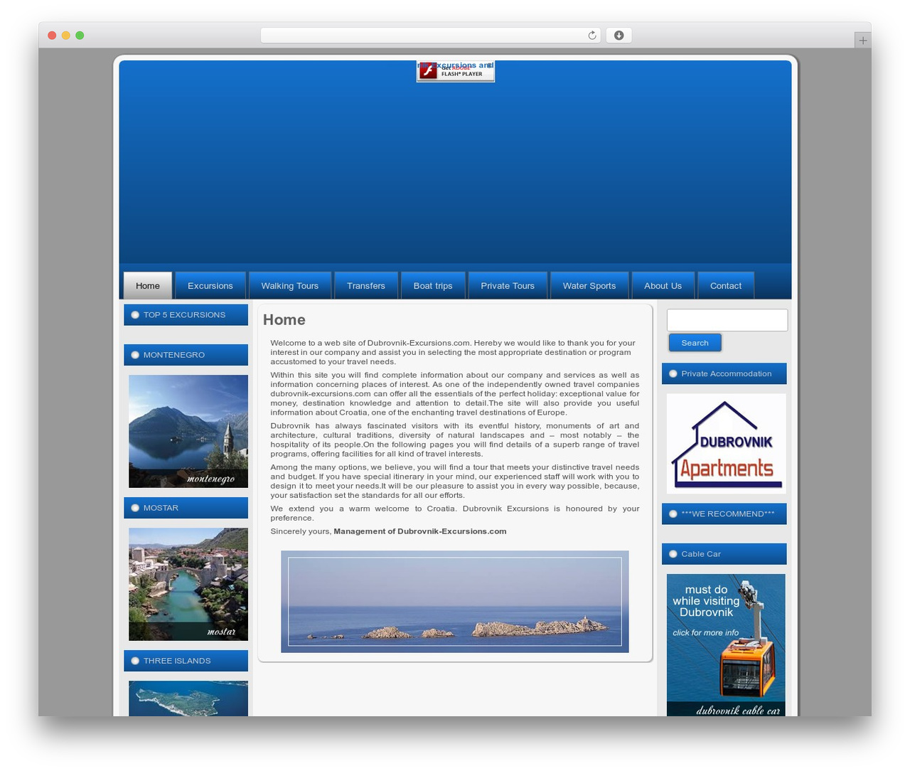dubrovnikexcursionstoursTheme URI: Description: Artisteer-generated themeVersion: 1.0Author: Author URI: Tags: fixed width, three columns, valid XHTML, widgetsbackground je bio E8E8E8 WordPress page template - dubrovnik-excursions.com